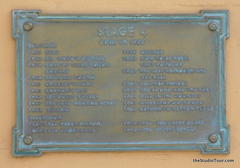 theStudioTour com - 20th Century Fox Studios - Stage 04