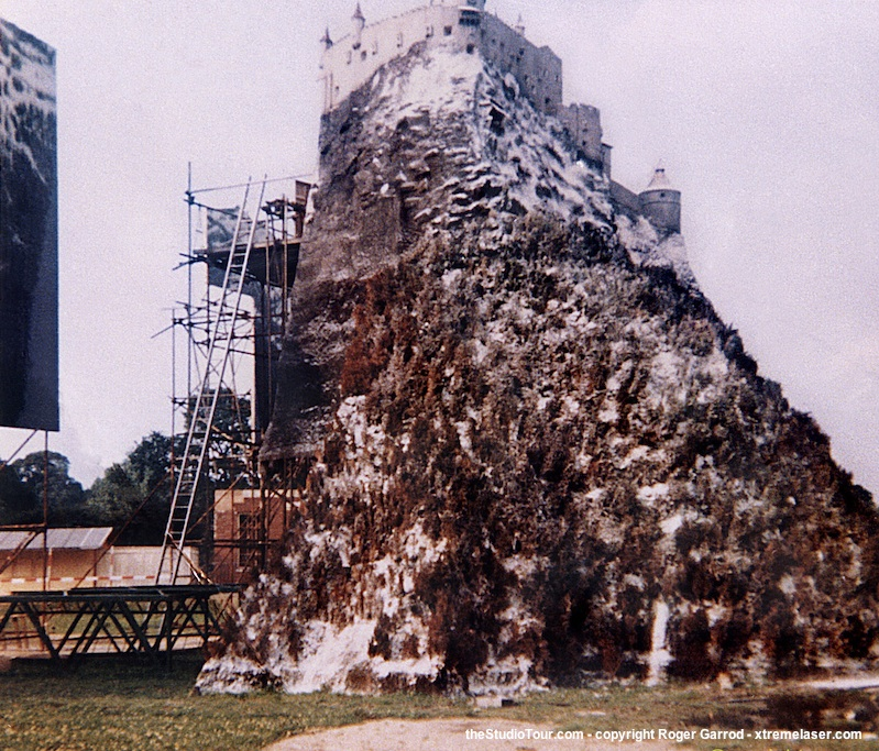 Amazing Scale Model Of The Where Eagles Dare Castle On The