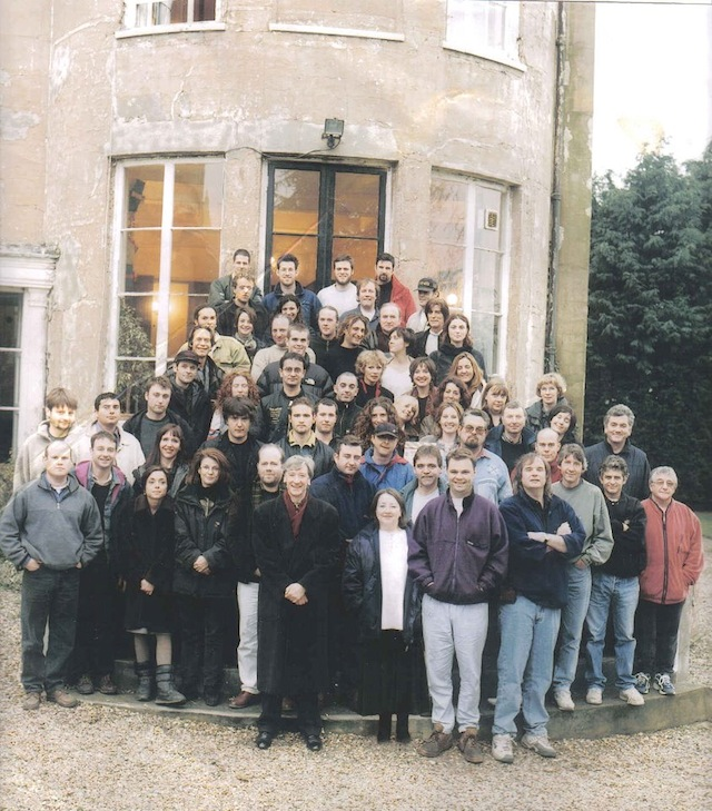 Cast and Crew from How Do You Want Me at Bray Studios, 2000