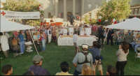 Bruce Almighty - 10 - Final scene of the movie at Courthouse Square (still from DVD release)