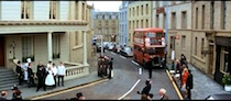 Inspector Clouseau at MGM Borehamwood - 1 - London Street set on the backlot