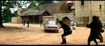 Inspector Clouseau at MGM Borehamwood - 4 - Chase scene through the village on the backlot.