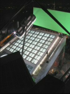 Mission Impossible 3 - In Production - 4 - Night-time view of the setup, Universal Studios Hollywood