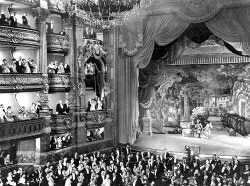 The interior of the Paris Opera, as seen in The Phantom of the Opera, 1925