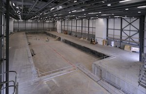 007 Stage empty and ready for use (c) Pinewood Studios