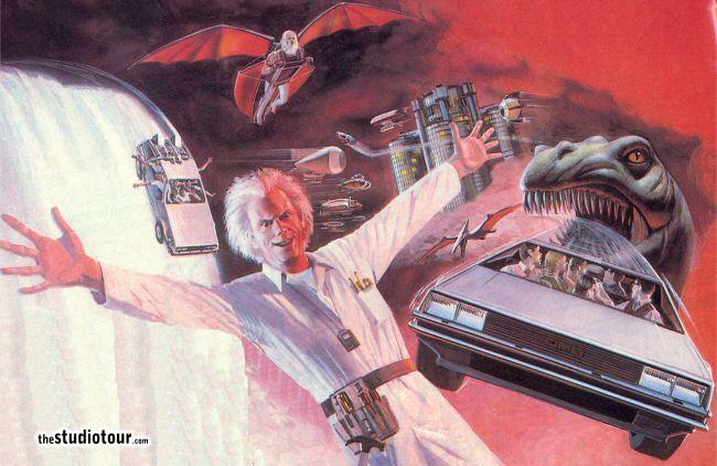 Back to the future concept art backtothefuture conceptart jpg