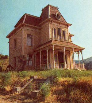 Image gallery psycho house for Norman bates house floor plan