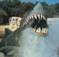 'Carrot-tooth' Jaws #1 - 1976 - 1978 (from Inside Universal Studios, 1978)