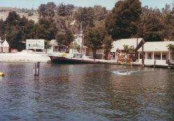 Jaws Lake with the Orca, seen in 1981 (photo courtesy Dean Mardon)