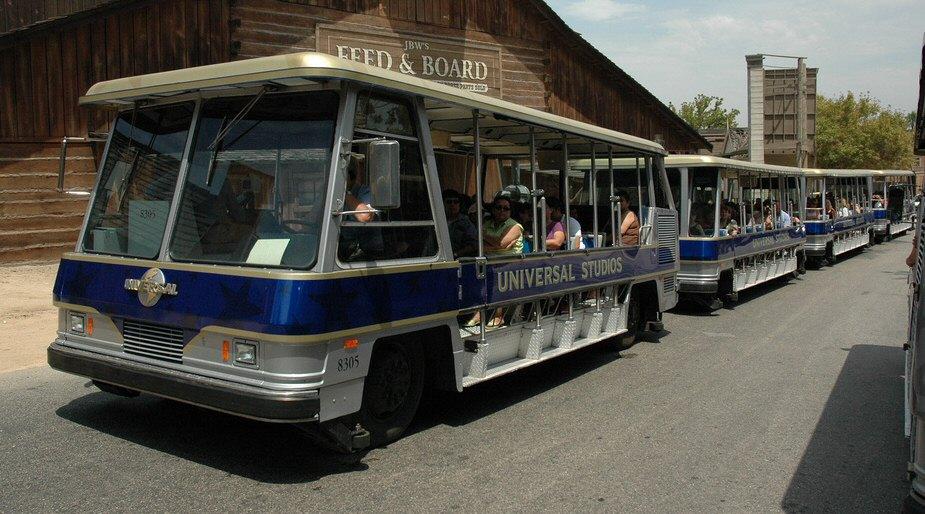 Universal Tours Tram Tour
