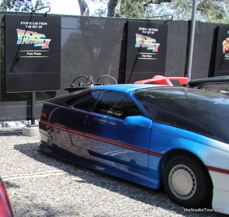 Ford Probe From Back To The Future II April 2015 C TheStudioTour