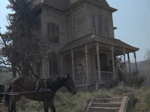 The psycho house in alias smith and jones in 1971