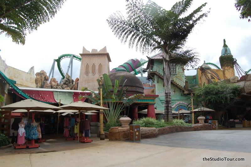Zero Gravity Theme Park >> Incredible Hulk Coaster - theStudioTour.com
