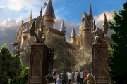 HOGWARTS CASTLE – The Wizarding World of Harry Potter at Universal's Islands of Adventure will provide visitors with a one-of-a-kind experience complete with multiple attractions, shops and a signature eating establishment. This completely immersive environment will transcend generations and bring the wonder and magic of the amazingly detailed Harry Potter books and films to life.