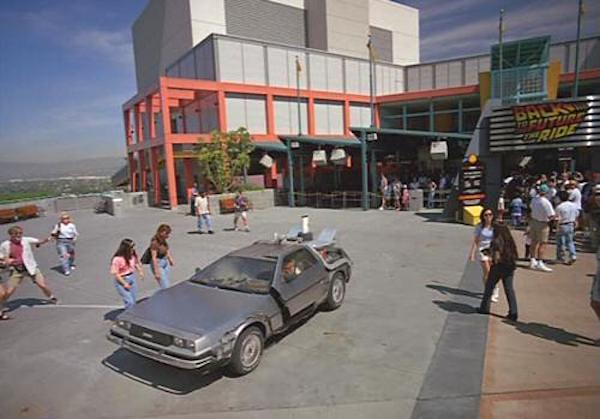Back To The Future The Ride Thestudiotour Com