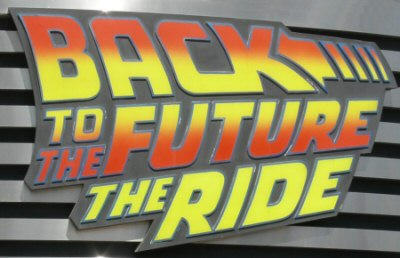 Back to the Future: The Ride - theStudioTour com