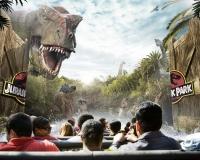 Jurassic Park Ride 1