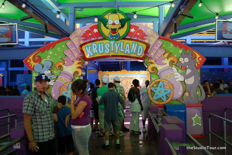 The Simpsons Ride Thestudiotour Com