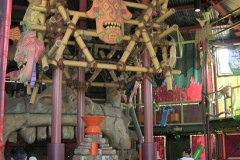 Central structure of the Adventure Temple (September 2006)