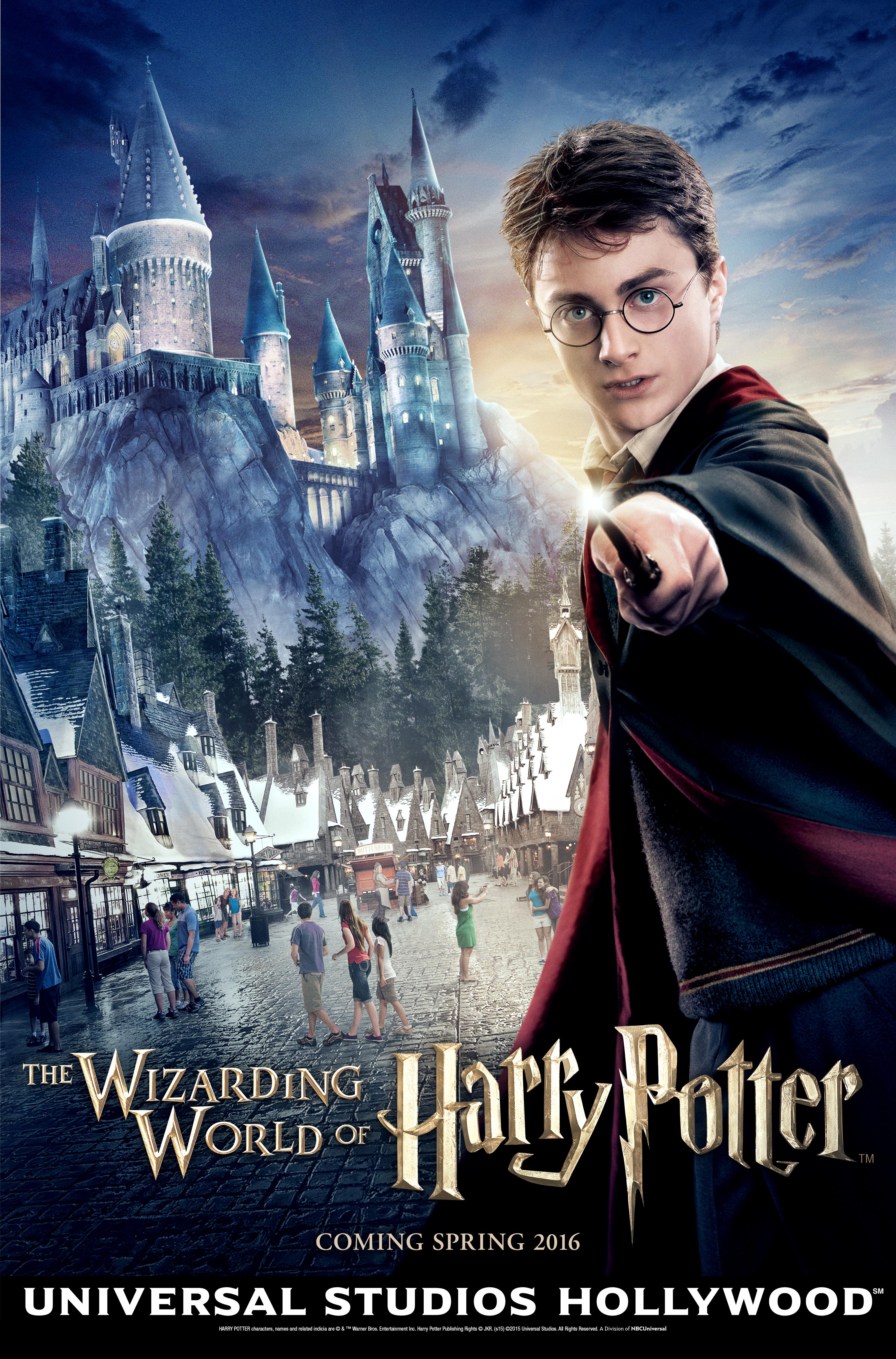USH WWoHP Key Art Social The Wizarding World Of Harry Potter
