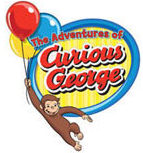 Website logo for The Adventures of Curious George