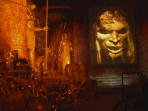 Revenge of the Mummy - Gold Room