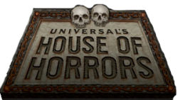Universal's House of Horrors official logo