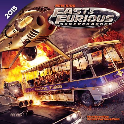Fast & Furious Supercharged - Advance Artwork (April 2014)