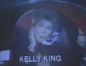 Helicopter Reporter, Kelly King (1989)