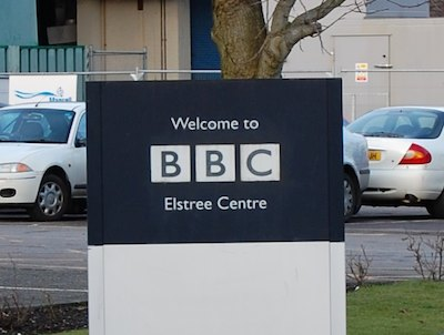 BBC Elstree Centre sign (2010)